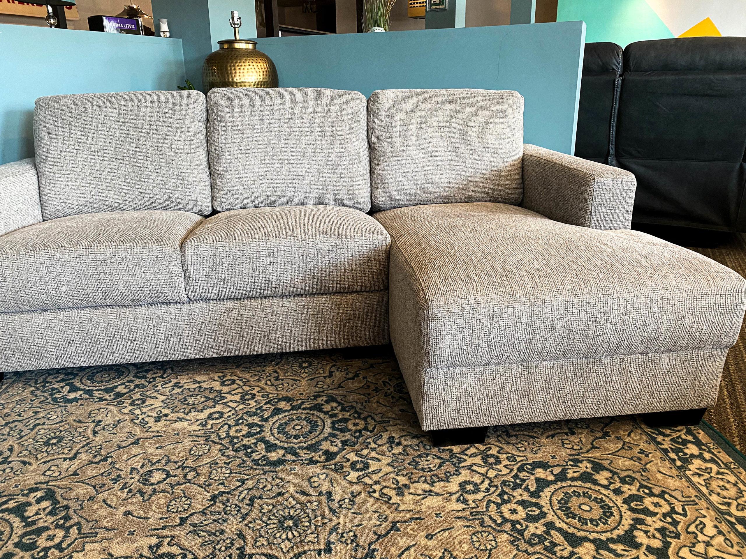 Maxwell   Small L shaped Sectional Sofa   Wallaroos Furniture